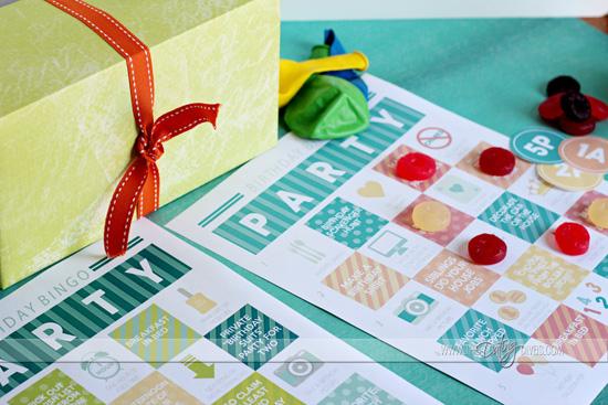 Birthday Bingo Adult and Kid Cards