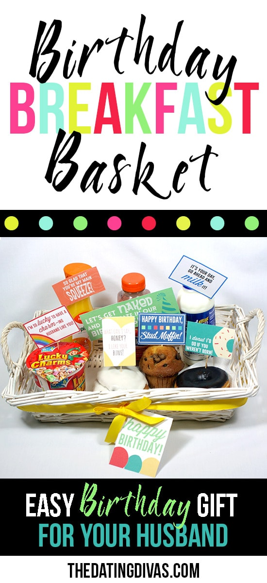 Fun Gift Basket Idea for the Hubby's Birthday