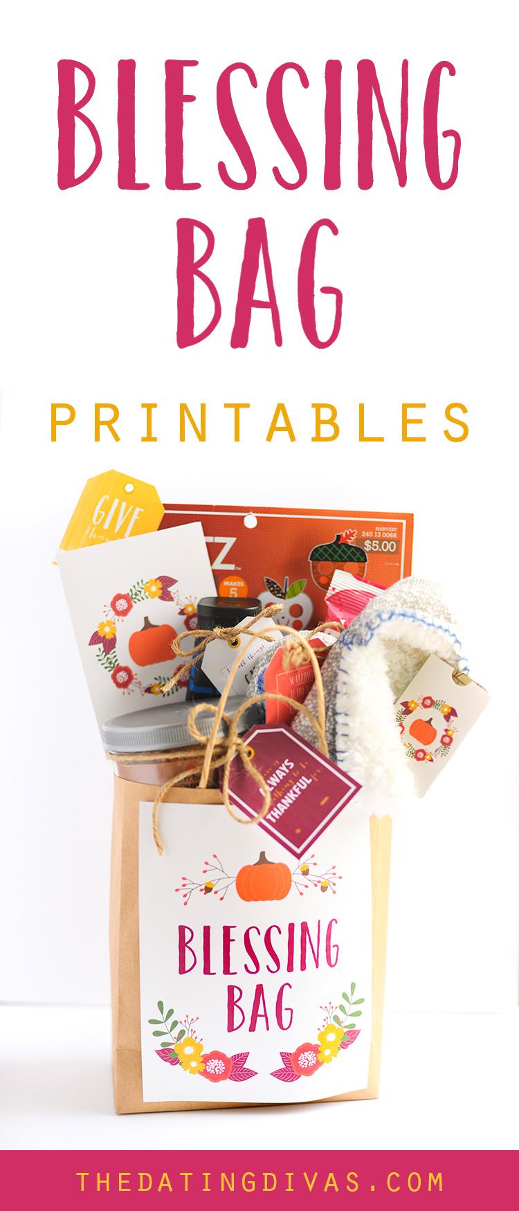 Blessing Bag Printables