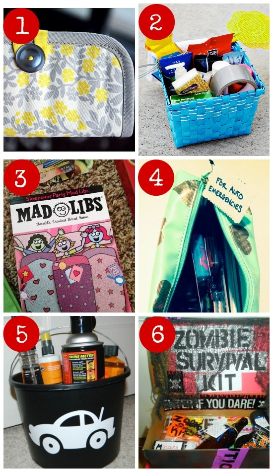 6 DIY gifts kits for teens