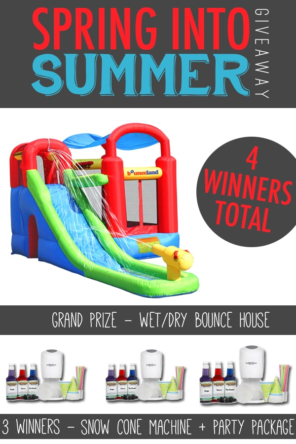Bounce House Blog Giveaway