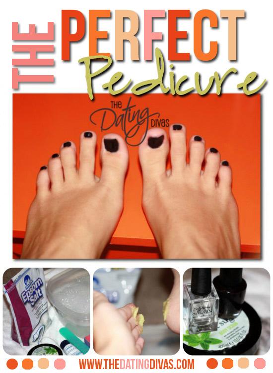A Perfect Pedicure For Pretty Feet