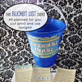 Bucket List Date Night idea