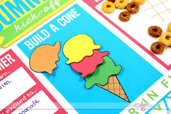 Build an Ice Cream Cone Printables