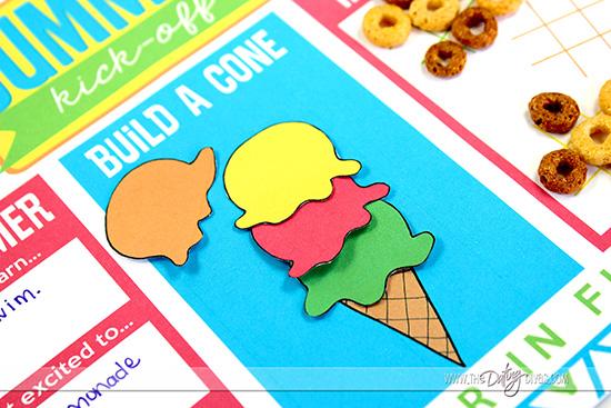 Build an Ice Cream Cone Printables