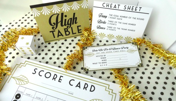 Bunco Party Printables