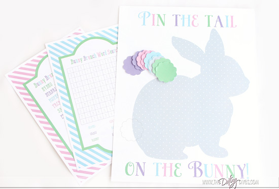photograph relating to Pin the Tail on the Bunny Printable named Bunny Brunch\