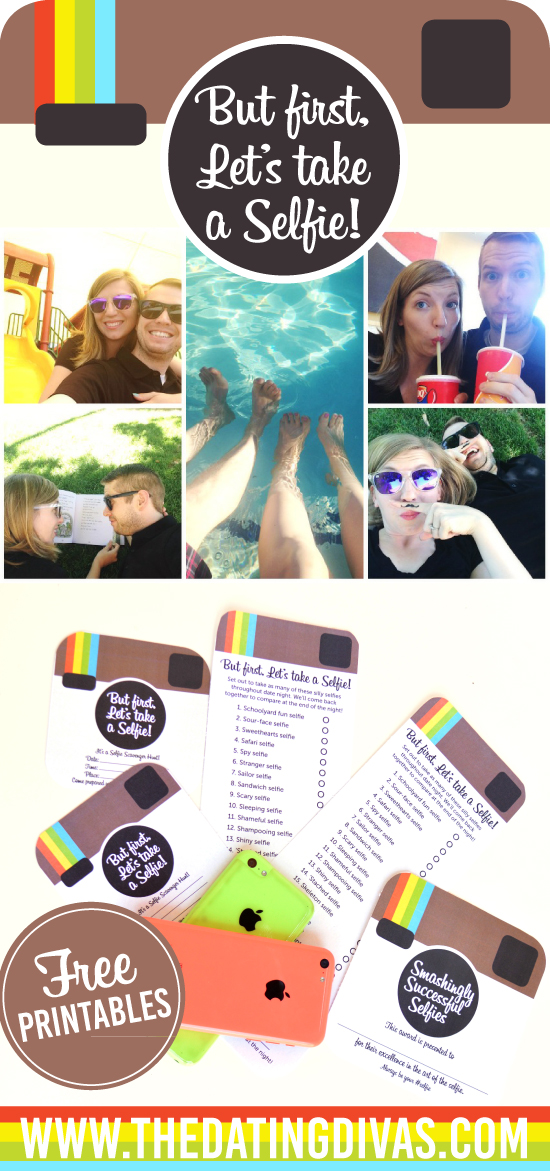 Selfie Scavenger Hunt with FREE Printables