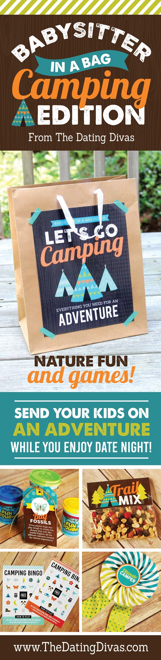 babysitter activities for kids camping edition babysitter in a bag camping edition