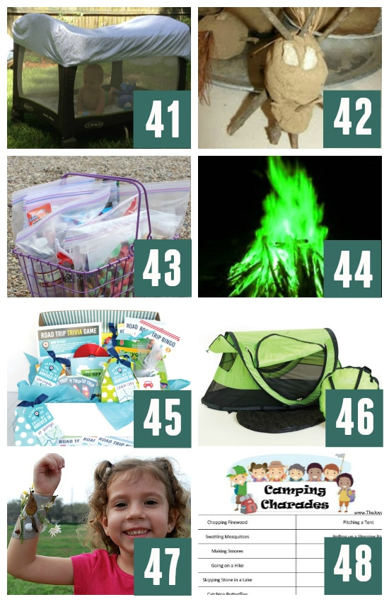 Camping Hacks for Trips with Kids