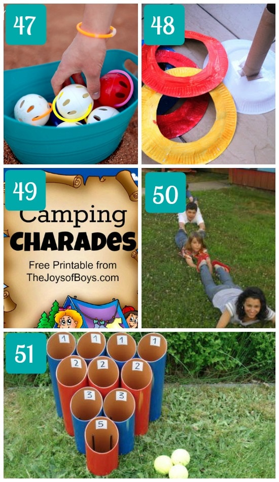 how to make camping fun for the whole family