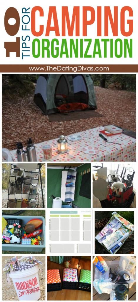 Camping Organization Tips