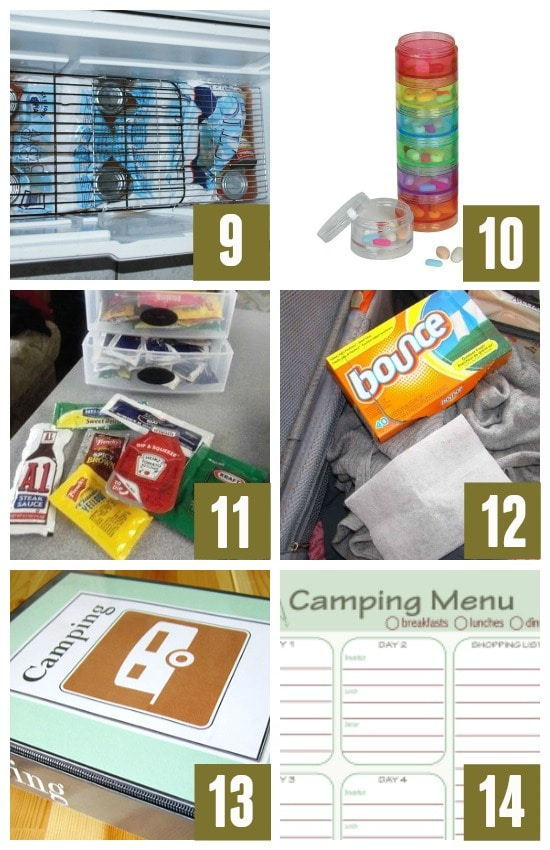 Camping Hacks for Easy Packing