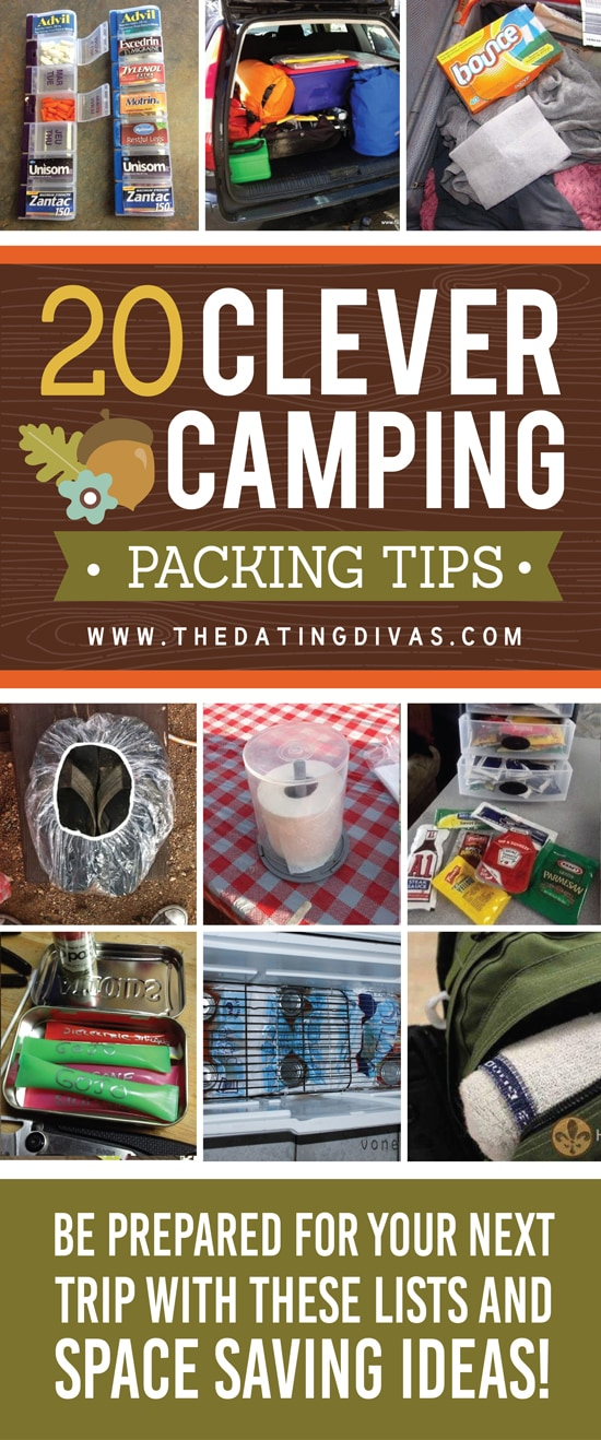 20 Camping Packing and Planning Ideas