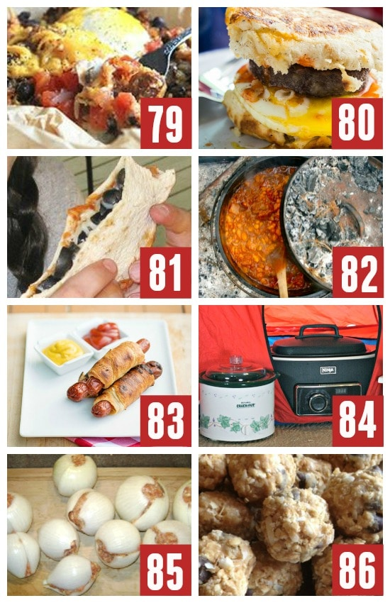 Family Friendly Dinner Recipes for Camping