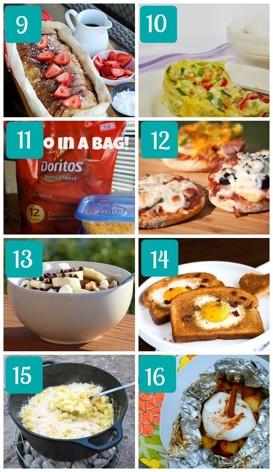 Easy Camping Recipes For Kids