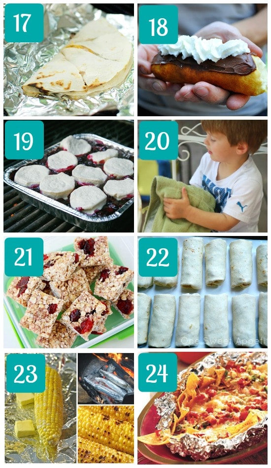 Easy Camping Meals For Family Around The Campfire