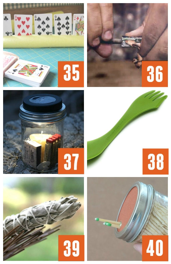 Brilliant Hacks for Tent and Fire Tools