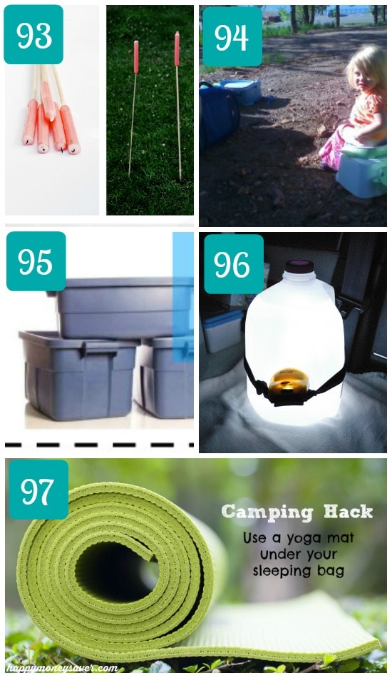 Camping with kids tips and ideas.