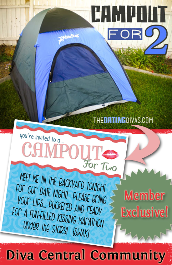 Campout For Two Printable