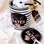 Can O Dates Gold and Black Printables