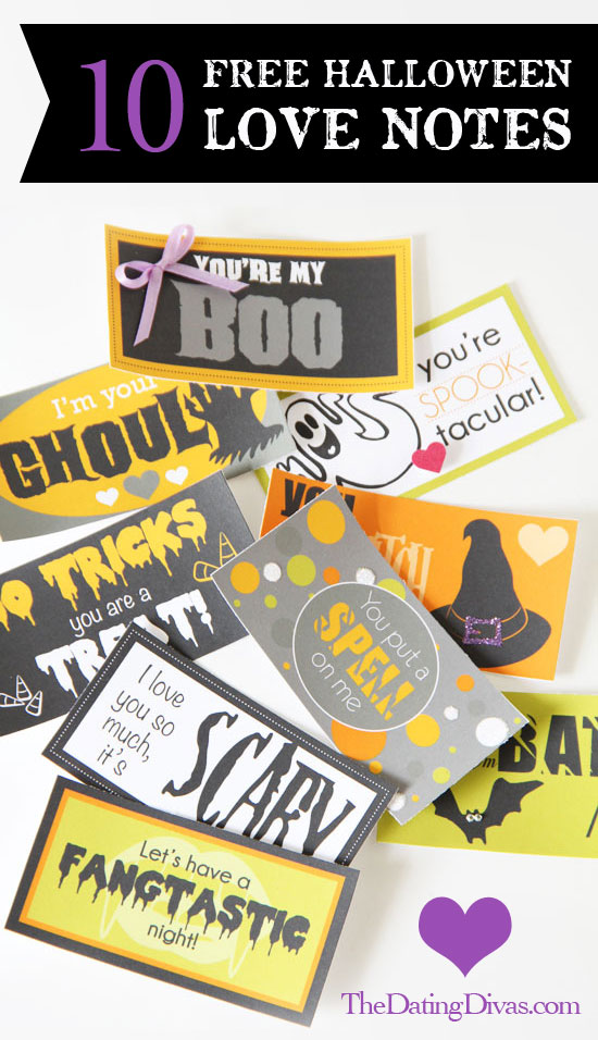 10 free halloween love notes free printable halloween love notes thecheapjerseys Choice Image