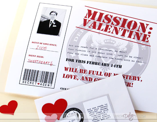 Valentine's Day Scavenger Hunt for Boyfriend