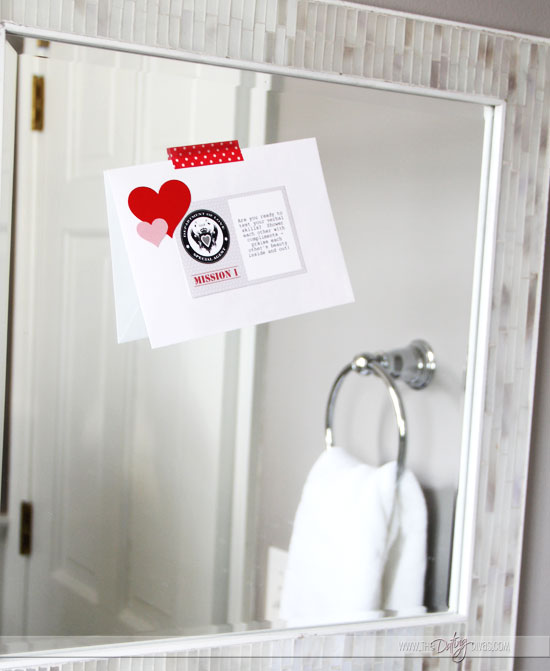 Valentine's Day Scavenger Hunt Around The House