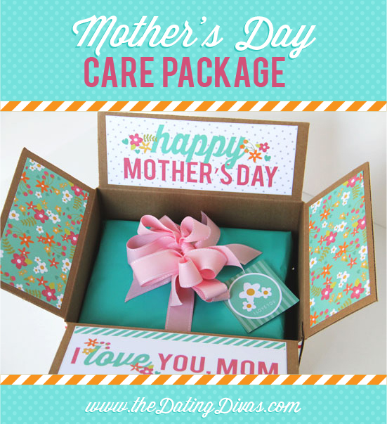 Decorative Boxes for Mother's Day are all the rage! Download these free printables and make your Mother's Day gift box something special! #MothersDayGift #MothersDayGiftIdea
