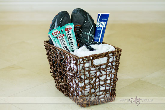 Gift basket ideas for runners best images about running themed gift gift basket ideas for runners gift for him our love keeps running negle Choice Image