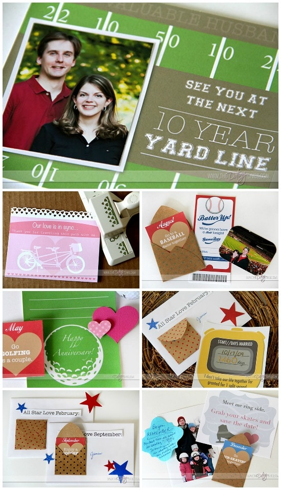 Sports Anniversary Date Printables