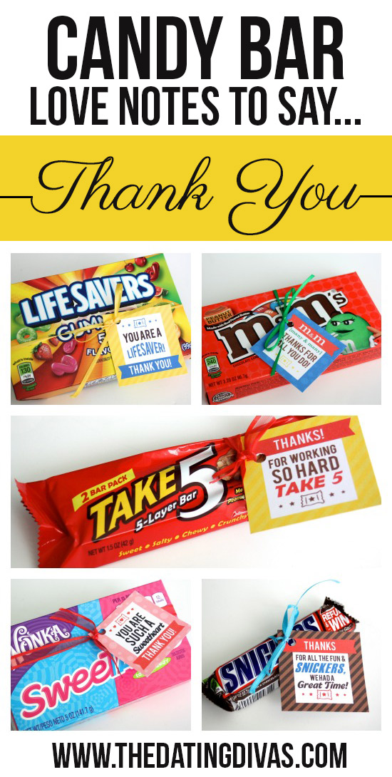 Clever Candy Sayings for {almost} Every Occasion! – PushUP24