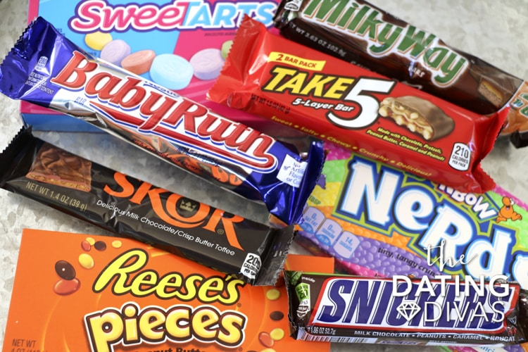 pile of Candy Bars for Candy poster