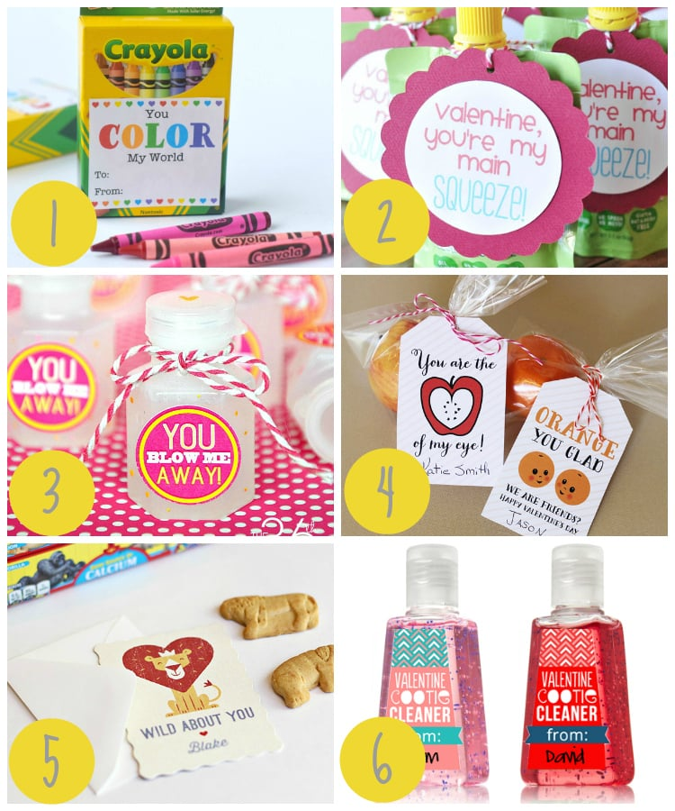 Candy-Free Kids Valentines Ideas