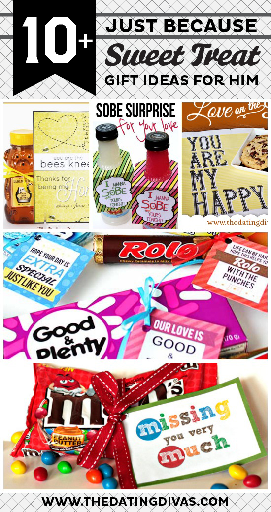10 Just Because Sweet Treat Gift Ideas For Him