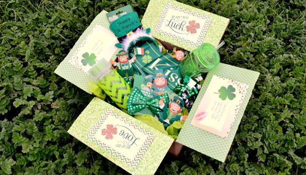 St. Patrick's Day Care Package Printable