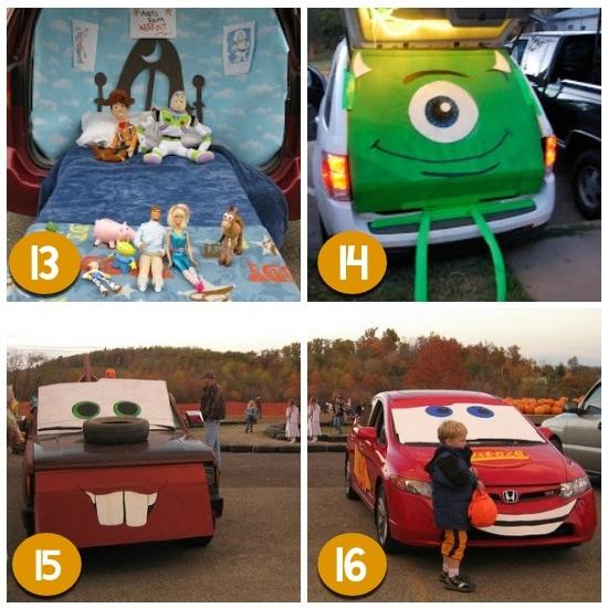 Disney Trunk or Treat Ideas