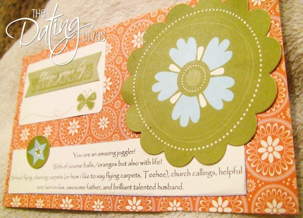 Why I Love You Scrapbook Cards for your Anniversary