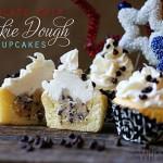 Cookie Dough Cupcakes!