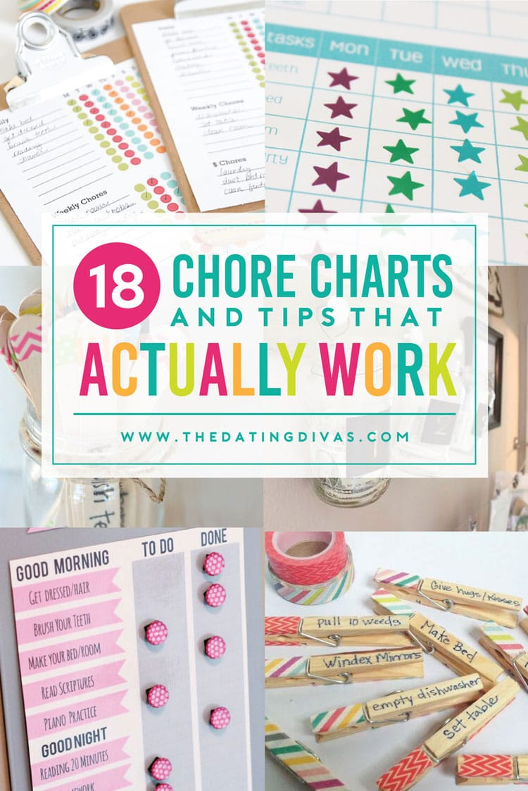 Chore charts that will work!