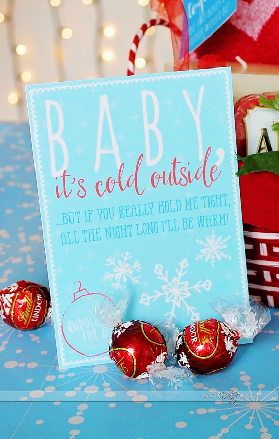 Chrismtas Cuddle Kit Date Printable