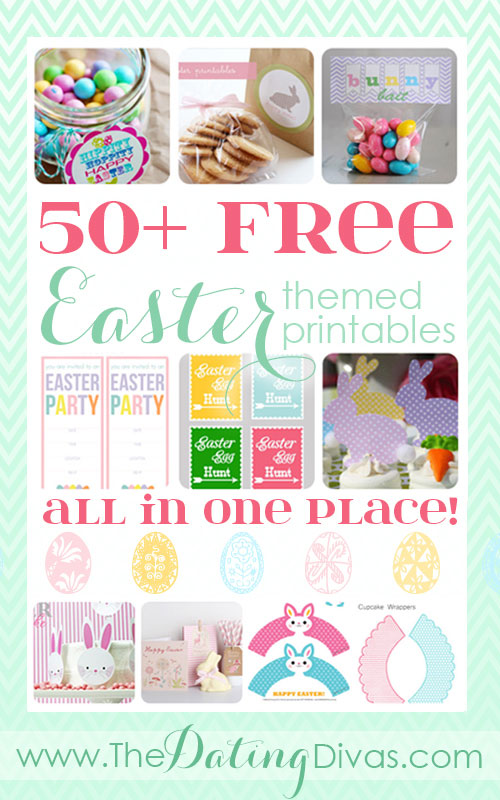 Chrissy - 50+ Easter Printables - Pinterest Pic