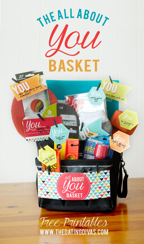 Quot All About You Quot Basket