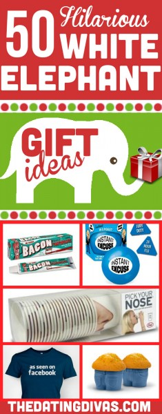 dating divas white elephant gifts