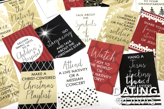 Christ-Centered Christmas Activity Cards