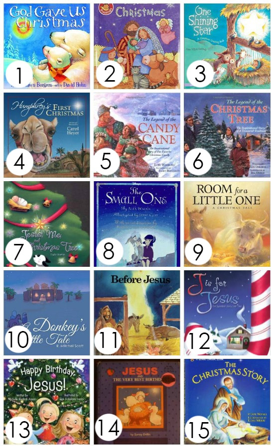 Christ-Centered Christmas Books for Kids
