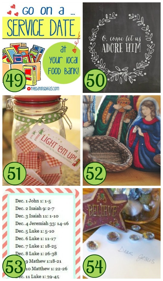 Christ-Centered Christmas Traditions Collage