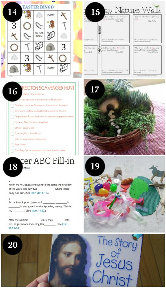 Christ-Centered Easter Activities for Kids