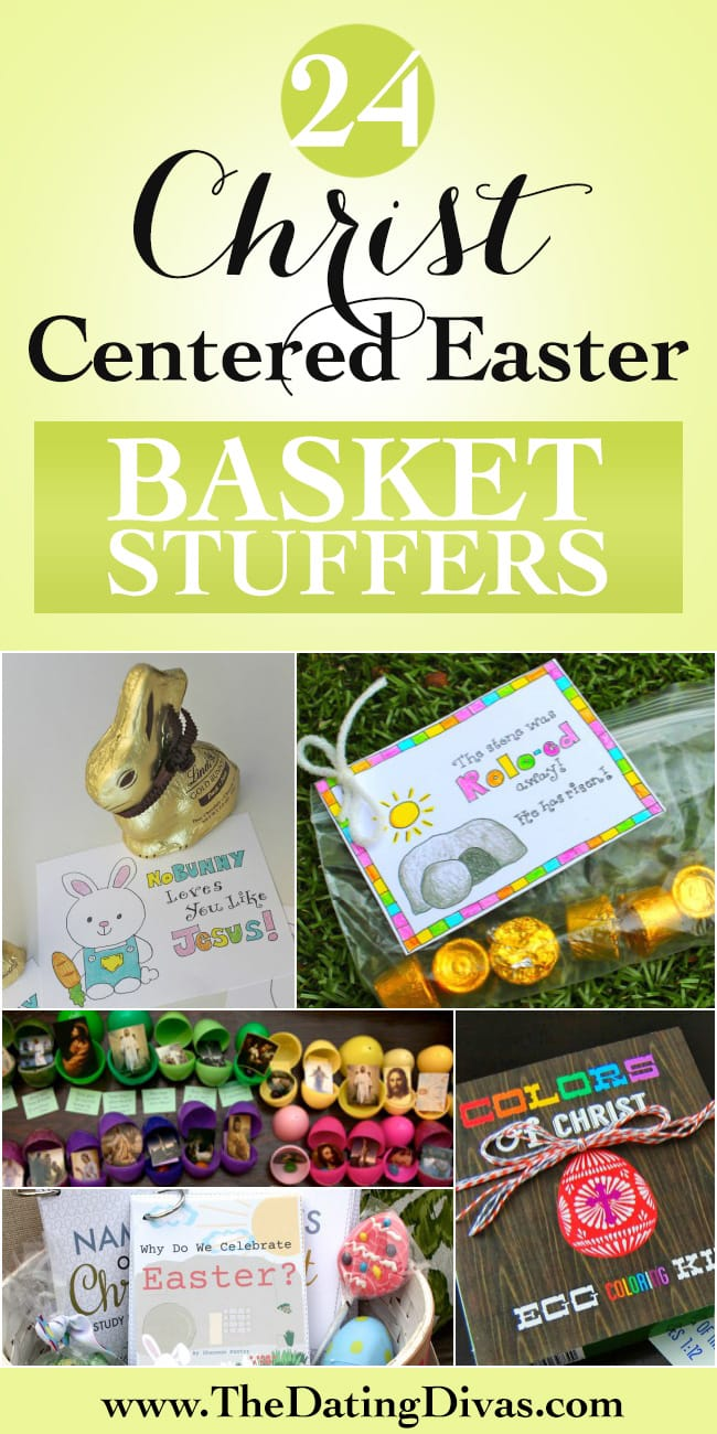 Christ Centered Easter Basket Stuffers - these are cute!