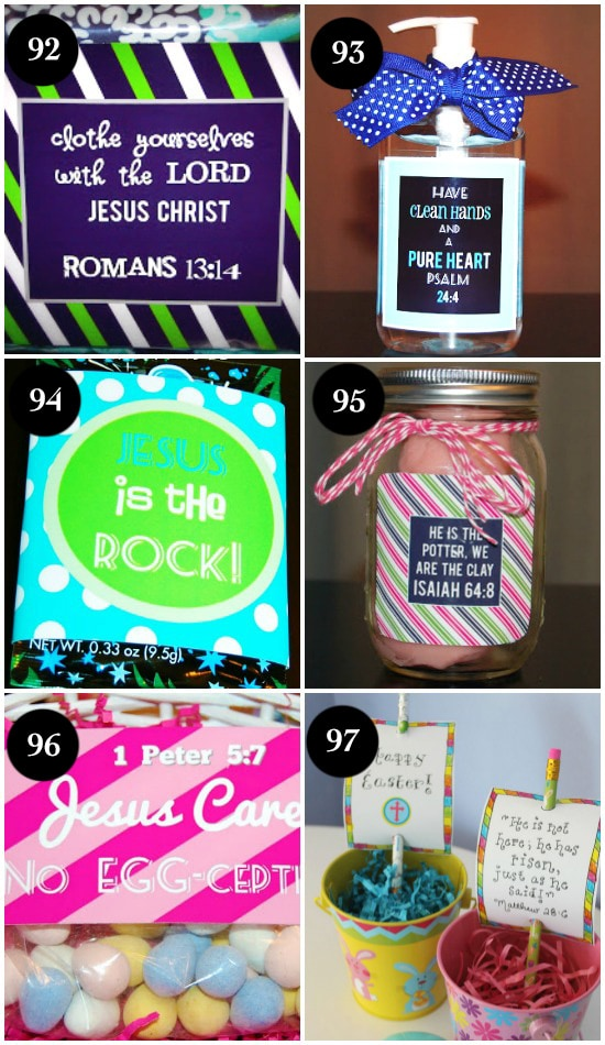 100 ideas for a christ centered easter christ centered easter basket stuffers negle Images